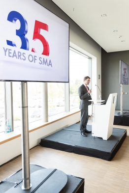 Am 09.09.2016 feiert die SMA Solar Technology ihr 35jaehriges Bestehen am Firmensitz in Niestetal bei Kassel (Hessen). Foto: SMA/Heiko Meyer