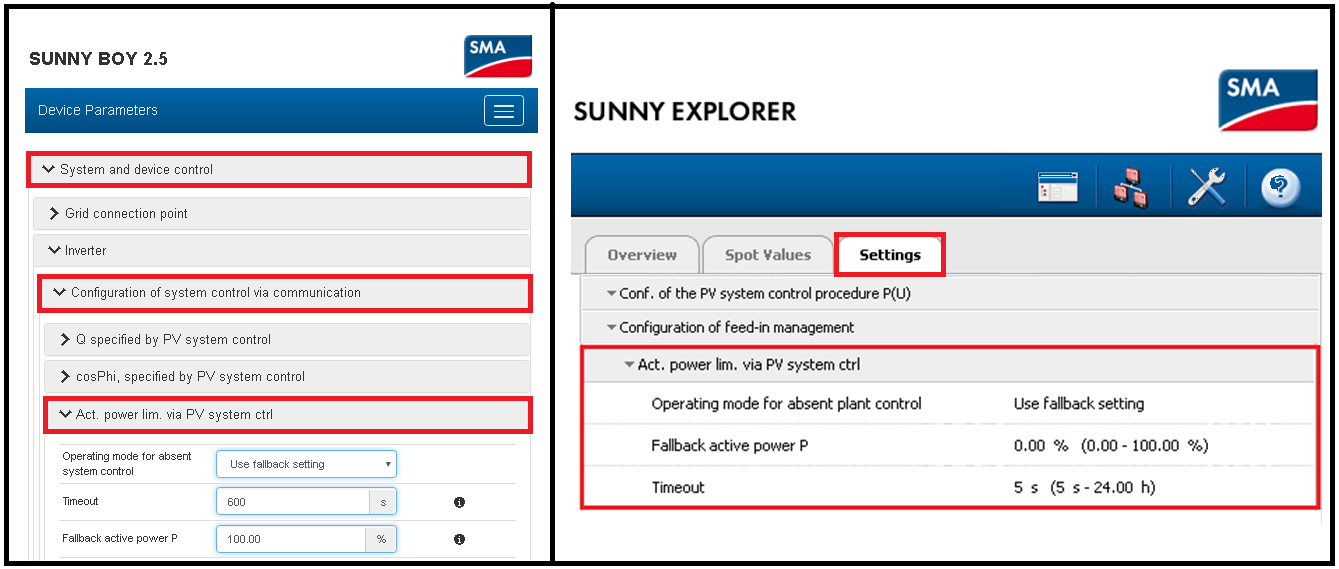 8Service Tip Setting up Sunny Boy Storage to control export of SMA PV inverters