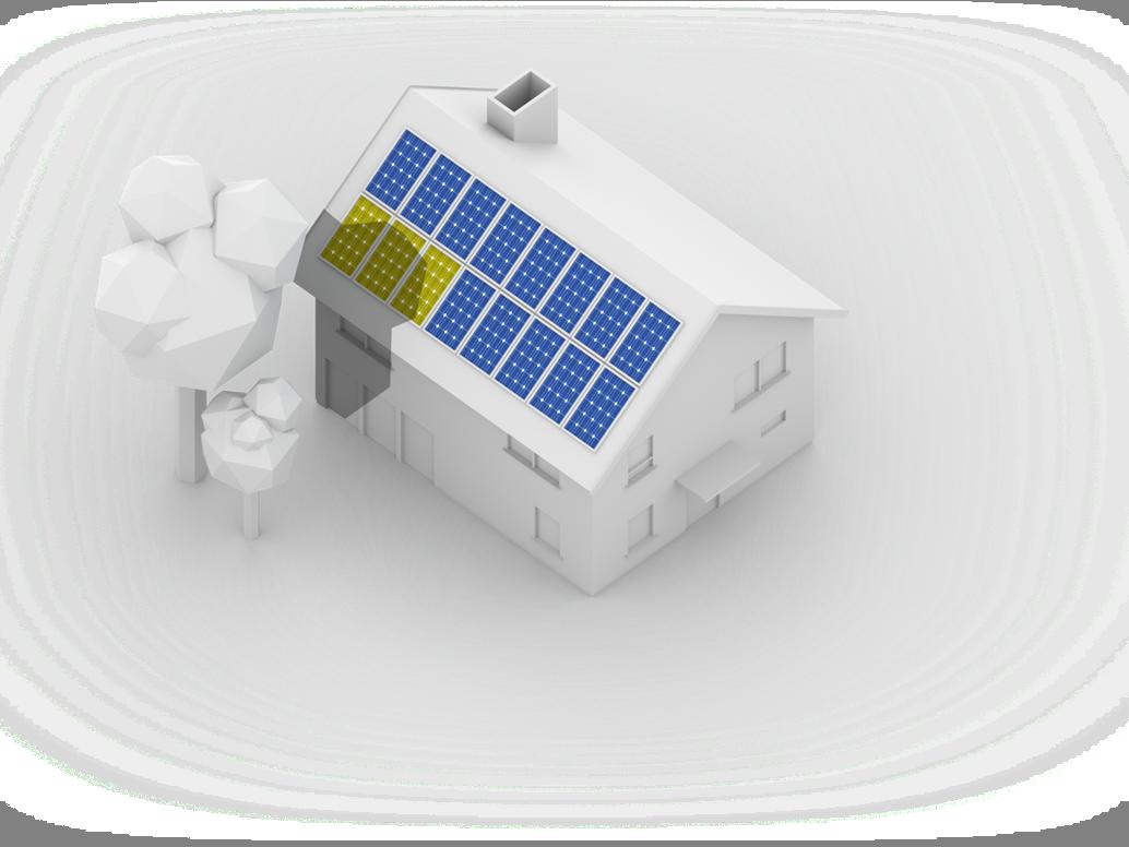 mehr sonne vom dach h chste solarertr ge trotz schatten oder unterschiedlicher modulausrichtung. Black Bedroom Furniture Sets. Home Design Ideas