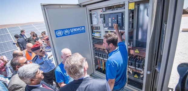 Solarpark versorgt Flüchtlingscamp in Jordanien mit Strom