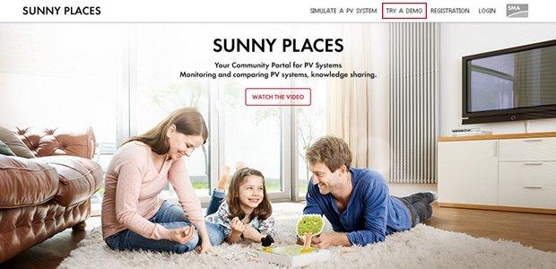 community portal sunny places