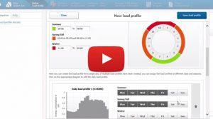 Verbraucherprofile mit Sunny Design Web anlegen
