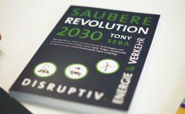 Buch Toni Seba saubere Revolutiion