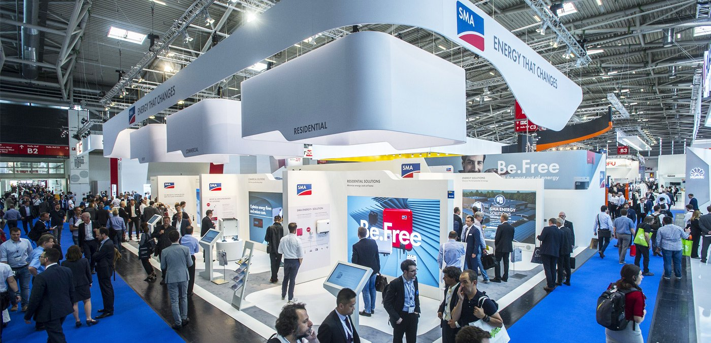 SMA Highlights auf der Intersolar 2018