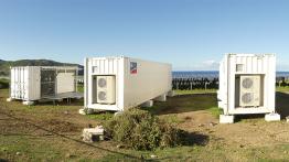 Speicherkraftwerk St. Eustatius