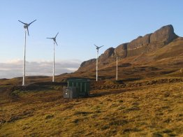 Eigg Island energy autarky
