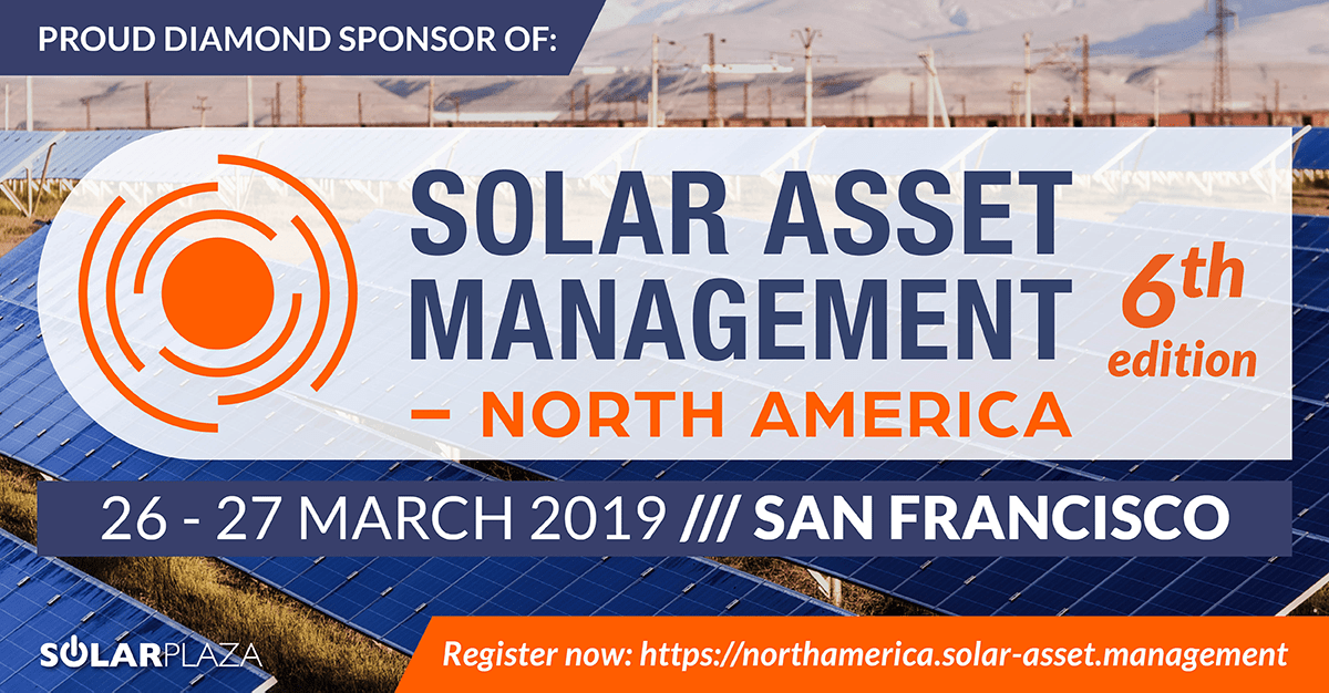 Meet SMA experts at Solar Asset Management North America 2019!