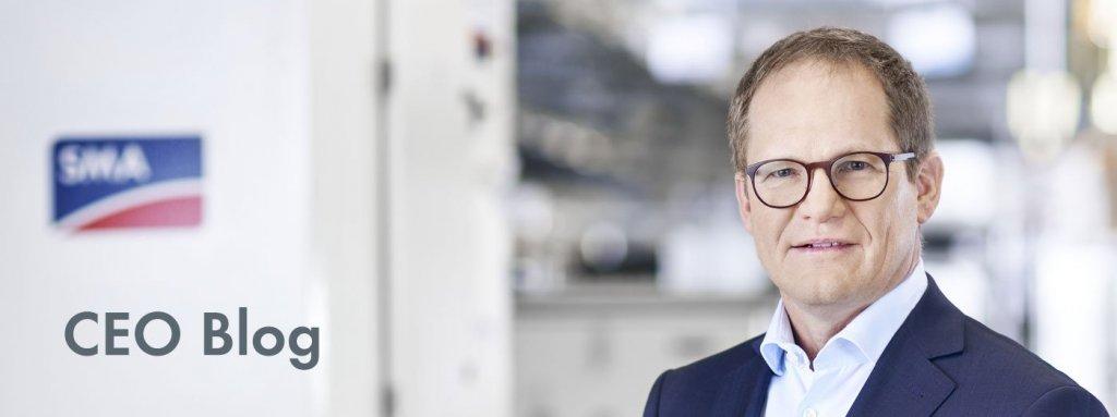 SMA CEO Jürgen Reinert
