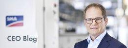 Hier schreibt SMA Vorstandssprecher Jürgen Reinert über Themen, die ihn bewegen.