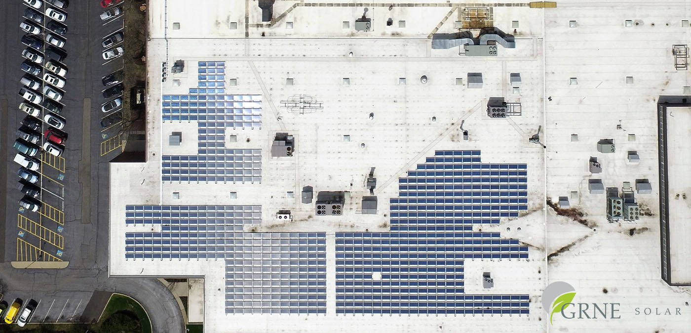 Generating Its Own Energy: Company Uses Flat Roof for Solar Power Production