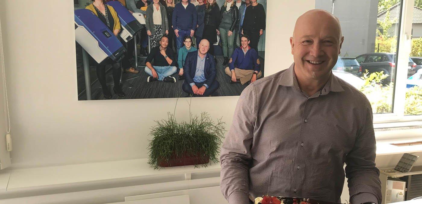 Jan Van Laethem 10 jaar SMA Benelux