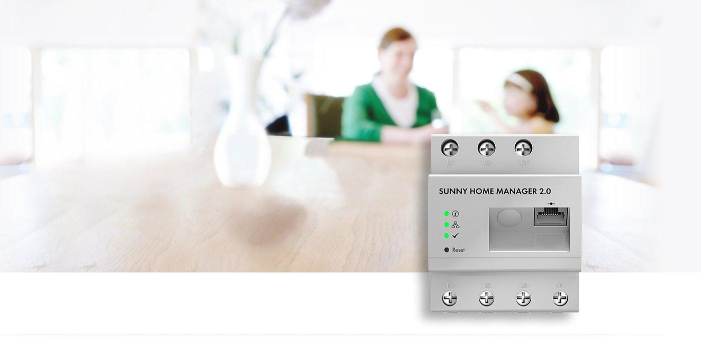 Update Sunny Home Manager 2.0: 100 Prozent Solarstrom nutzen