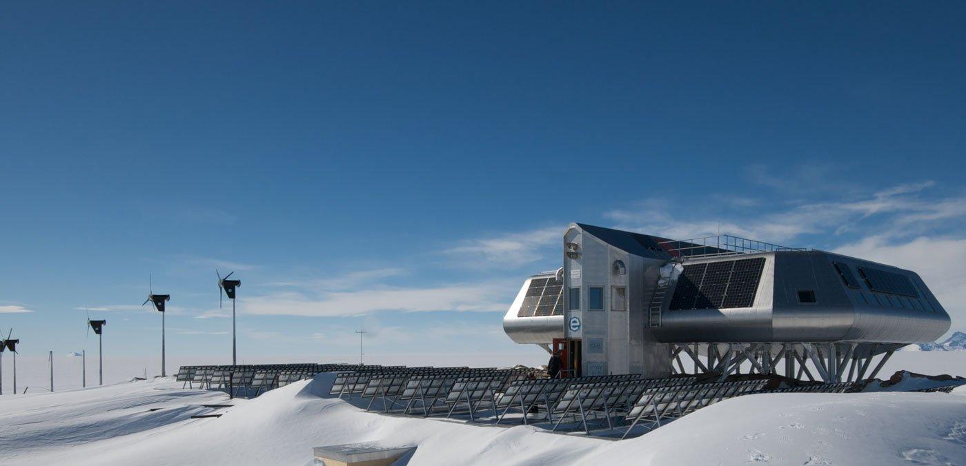 Update für emissionsfreie Forschungsstation in der Antarktis