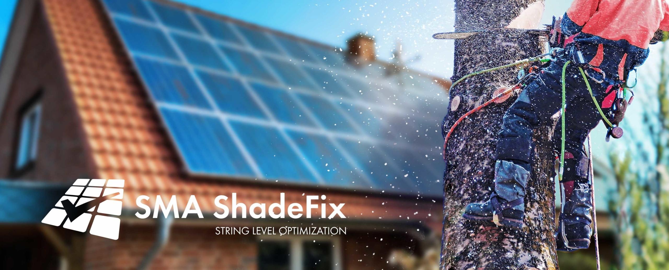 SMA ShadeFix ile FV Sistemlerde Gölge Yönetimi