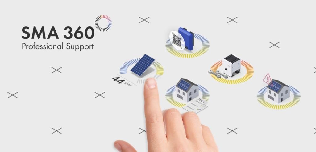 I vantaggi della nuova app SMA 360° per gli specialisti del fotovoltaico