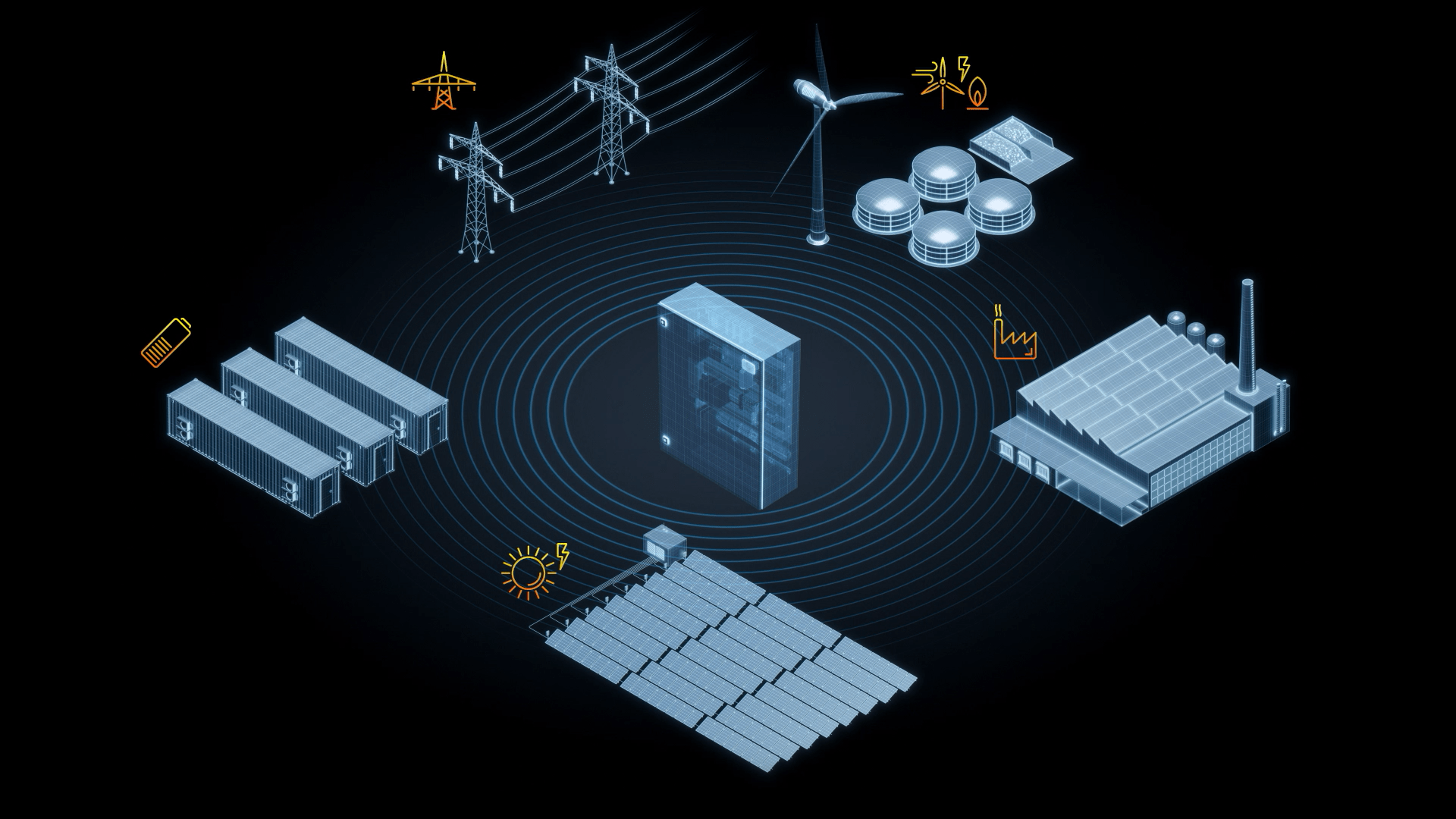 The SMA Power Plant Manager networks regenerative energy generators to form a single system.