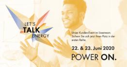 Digitales Event Let´s talk energy! POWER ON begeistert Kunden und Partner