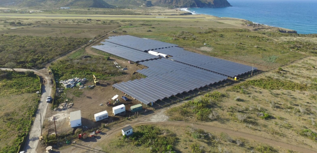 Sustainable Power Supply for Caribbean Island St. Eustatius with the SMA Fuel Save Solution