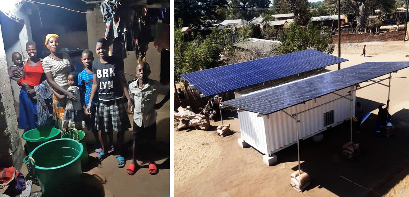 Malawi village powered up with solar-based microgrid