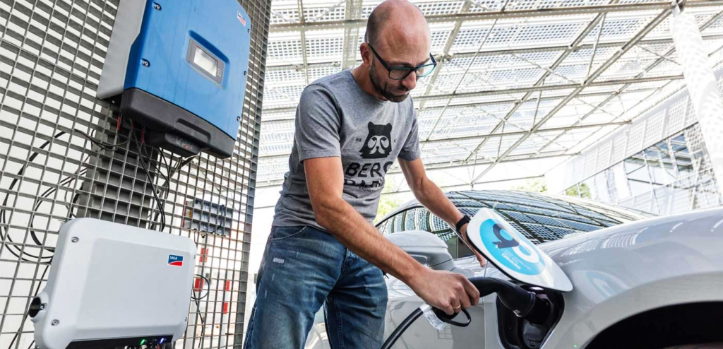Charge your electric vehicle at home