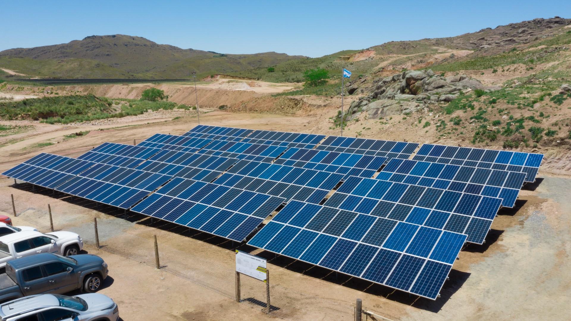 Ascentio Technology solar plant in Cordova, Argentina