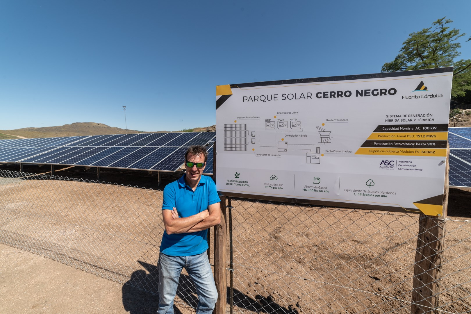 Parque Solar en Cordova, Argentina