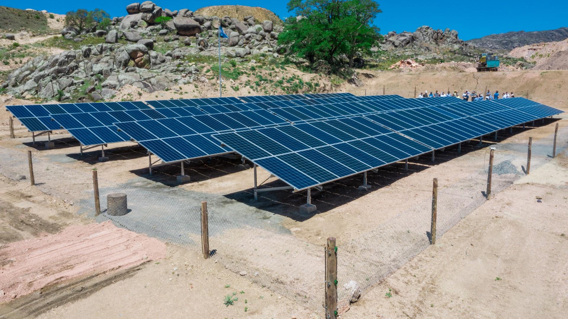 Sistema Solar Fluorita Cordova Argentina