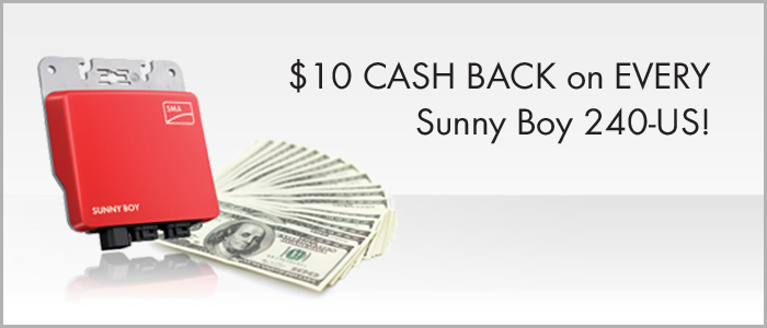 Sunny Boy 240-US Rebate