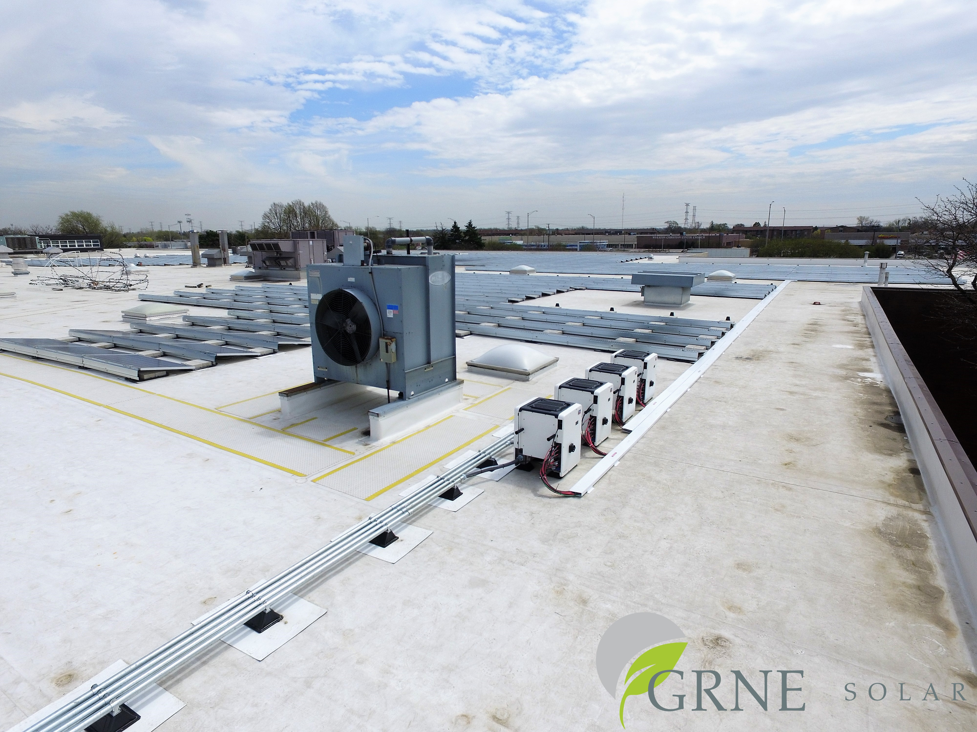Solar system featuring SMA Sunny Tripower CORE1 inverters at Spraying Systems