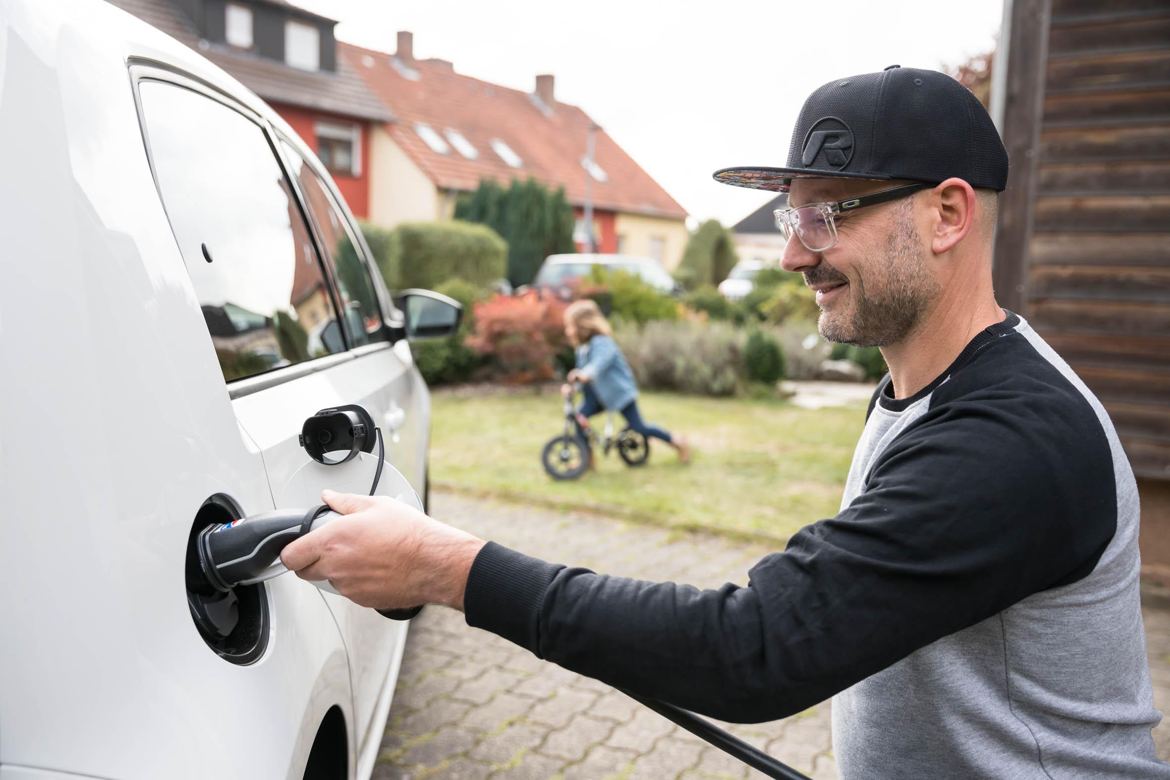 Die Solartankstelle zu Hause macht Elektromobilität besonders nachhaltig.