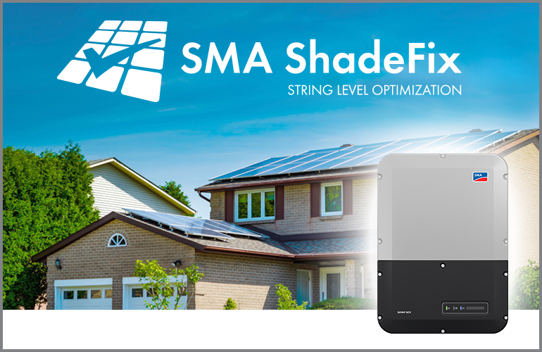 SMA Sunny Boy with ShadeFix optimization