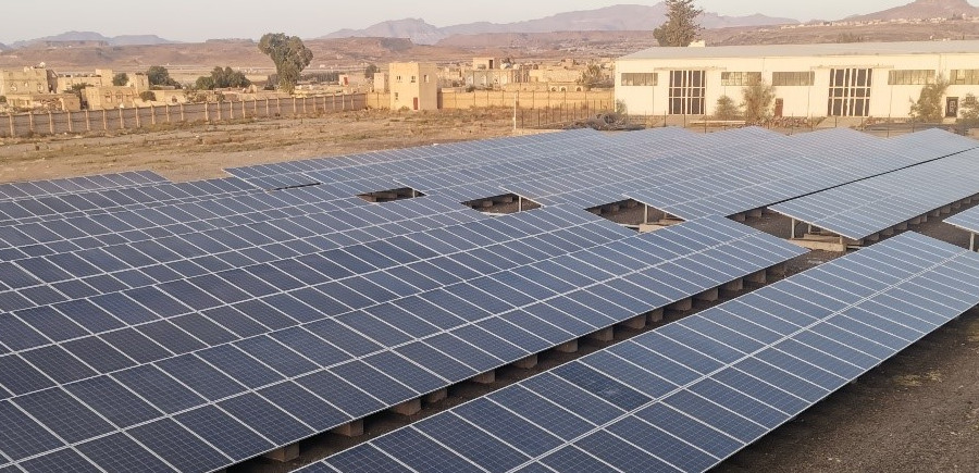 Solar power for water-scarce Yemen communities