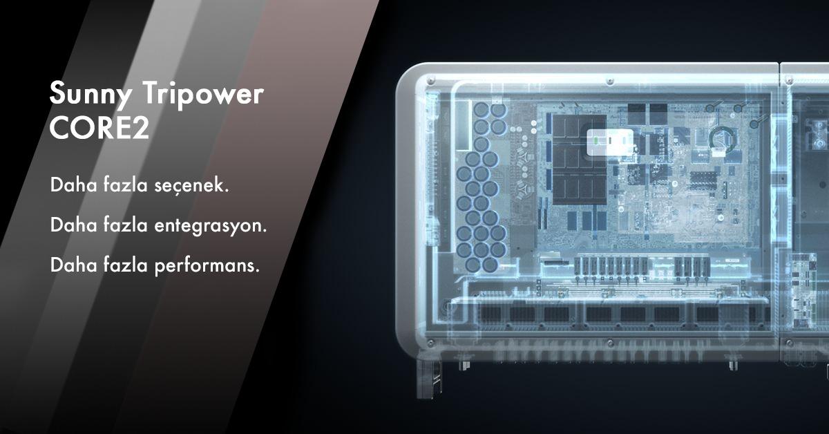 Yenilikçi ürünümüz SUNNY TRIOPOWER CORE2, benzersiz tasarımı ve sade yapısı ile projelerinizde ihtiyaç duyduğunuz esnekliği sizlere sunar.