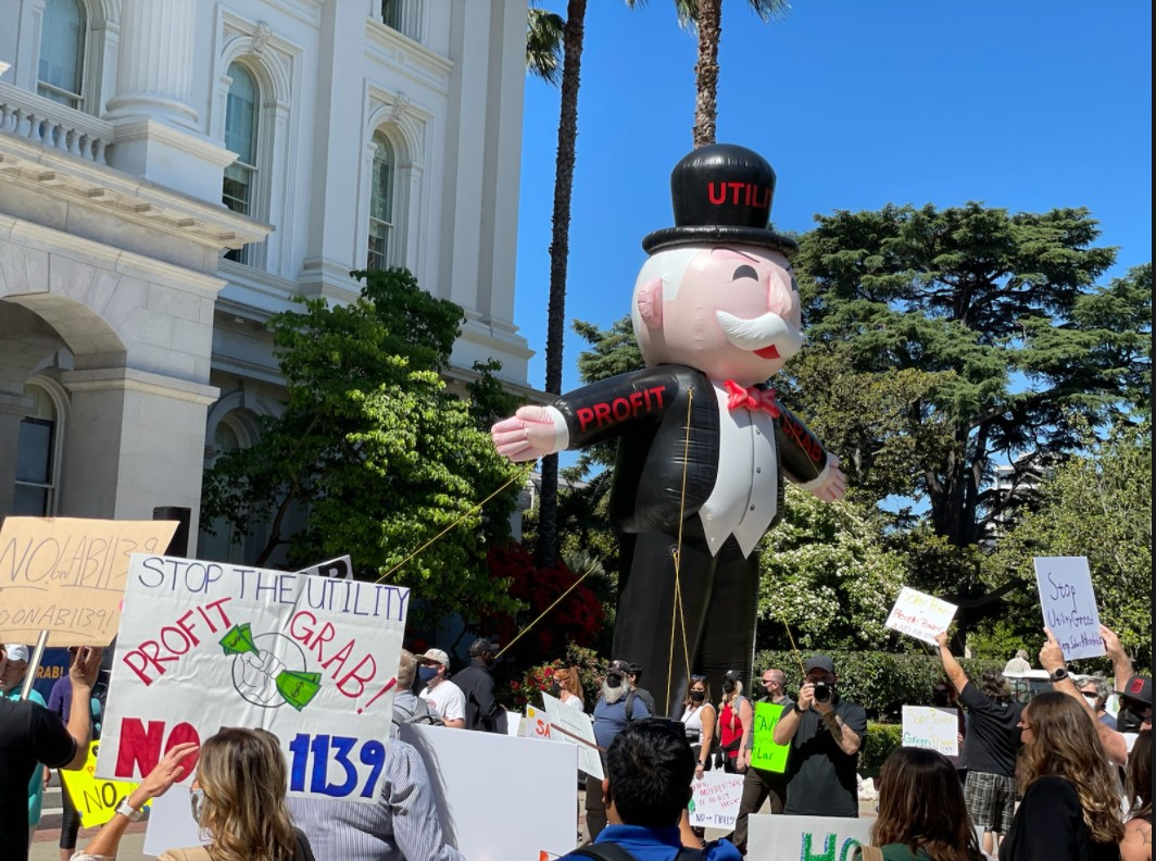 Rally to Stop the Profit Grab