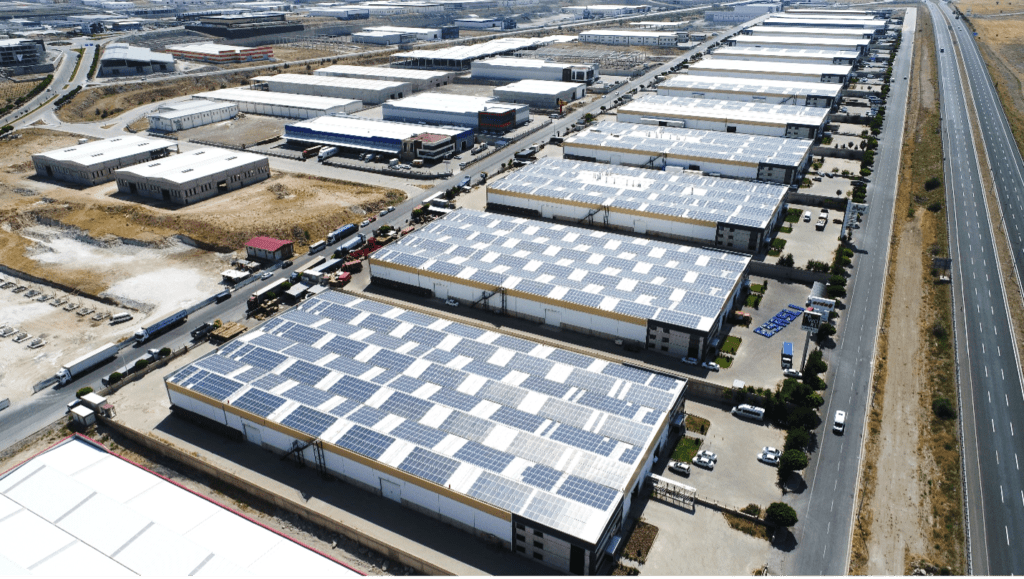 Mimarsinan OSB Fabrika çatı üzeri GES, Kayseri (EPC – Asunim)